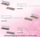 Het aangepaste Palet van de Oogschaduw van het Palet van de Oogschaduw Kosmetische Verpakkende (yello-170)