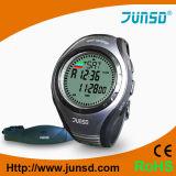 Relógio profissional do monitor da frequência cardíaca com compasso (JS-717)