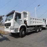 真新しいHOWOのダンプトラック50トンのダンプカートラックの大型トラック