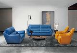 Nuevo sofá de cuero, sofá moderno (1213)