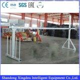 Zlp Puder-Beschichtung-glasierende Aufbau-Stahlgondel