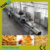 Petróleo fresco automático que fríe las patatas fritas dulces que hacen la máquina