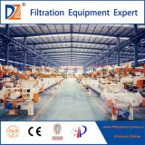 Prensa de filtro automática de Dazhang para el tratamiento de Sludege
