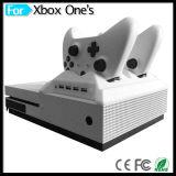 4 в 1 зарядной станции с вентиляторами охладителя переходники эпицентра деятельности USB охлаждающего вентилятора для пульта игры xBox одной s & вспомогательного оборудования регулятора