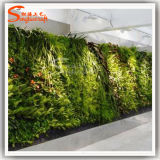Wand-Dekoration-künstliches synthetisches Pflanzenwand-Gras