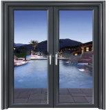 Portes d'entrée en verre de salle de bains de vente de prix usine