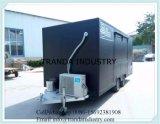 De Aanhangwagens van de Concessie van de douane en de Mobiele Vrachtwagens van het Voedsel