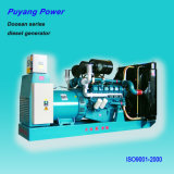 60Hz Doosan Korea Original Open Frame Diesel Generator (96kVA to 676kVA)