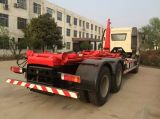FAW 4X2 170HP는 훅 상승 쓰레기 트럭을 복사한다