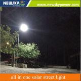 40W réverbère solaire de lampe imperméable à l'eau élevée de l'éclairage DEL