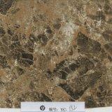 Пленка переноса воды картины мрамора желтого цвета черноты ширины Yingcai 1m