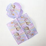 Party jetable Paper Napkin avec Color Printed