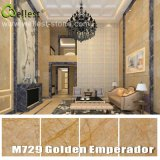 Losa de mármol de oro y azulejo de M729 Emperador