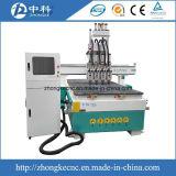 Машинное оборудование Woodworking CNC Atc цилиндра 4 головок