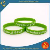 Bracelet en caoutchouc bon marché de silicone de mode (LN-041)