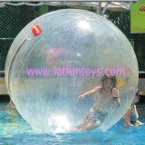 Het menselijke Opblaasbare Lopen op de Bal van het Water, de Ballon van de Bel van het Gebied van Aqua van de Pool. (Flwb-01)