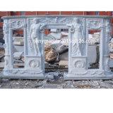 백색 대리석 벽난로 주위 벽로선반 (SY-MF009)