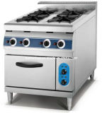 4 Brenner Gas Free Standing Cooker mit Gas Oven (HGR-94G)
