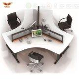 新しいデザイン現代まっすぐなオフィスの区分ワークステーション(HY-282)