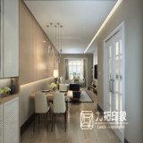 Het Teruggeven van het Ontwerp van de Stijl van de Manier van het Plan van de Lay-out van de woonkamer 3D Decoratie van het Huis