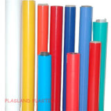 Hoja coloreada sólida del PVC/el cubrir opaco del PVC