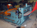 Painel elétrico hidráulico do telhado que curva a máquina, máquina de friso. Máquina de arqueamento