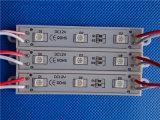 5050 3LEDs que hacen publicidad de la luz del módulo de la prueba SMD LED de la lluvia del uso
