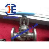 Valvola di globo sigillata muggito della flangia dell'acciaio inossidabile del volante di DIN/ANSI