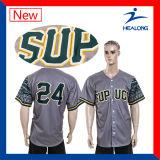 Healong安いデジタルの印刷の男子野球ジャージー