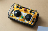 AC 110V Wireless Radio Remote Control Double Industrial Dual Joystick Wireless Afstandsbediening F24-60 voor Crane