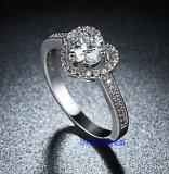 Heet verkoop de Ringen van het Messing van het Zirkoon van Juwelen (R0833)