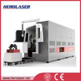 automatische Laser-Ausschnitt-Maschine des Gefäß-500/1000W verwendet auf Metallrohr-Industrie
