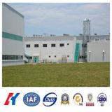 Самомоднейшее светлое здание фабрики мастерской стальной структуры (KXD-SSB101)