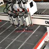 스핀들 2/3/4를 가진 압축 공기를 넣은 공구 변경 CNC 대패 또는 절단기