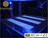 RGB結婚式、党、イベントのための光るLEDのStarlitダンス・フロア