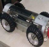 Robôs da inspeção do túnel da indústria com a câmera da inclinação da bandeja