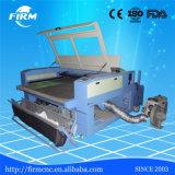 doppia tagliatrice del laser del tessuto del CO2 delle teste di 1600*1000mm con il fornitore dell'alimentazione automatica