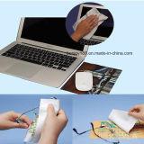 Chaud vendant non le tapis de souris de Microfiber de glissade avec le POINT de silicones