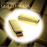 Disco de destello del USB del ladrillo de oro (UFD-M018)