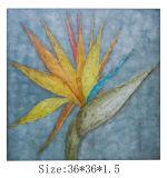 조경 유화 (LH-700536)가 추상적인 색칠에 의하여 설치한다