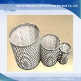 Metal perfurado para filtros automáticos