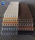 Nagelneuer hochfester hölzerner zusammengesetzter Plastikdecking, HandelsqualitätsDecking, 160 X.25 mm