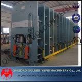 フレームタイプゴム製加硫装置の版の加硫機械