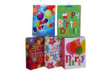 Sacs en papier de cadeau d'anniversaire de sacs en papier d'usager de qualité