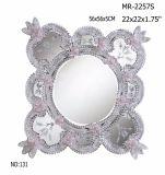 Blumen-Form des Kristallwand-Spiegels