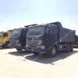 Sinotruk HOWO A7 6X4 덤프 트럭 쓰레기꾼 팁 주는 사람 트럭