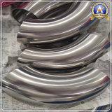 Нержавеющая сталь Горяч-Отжимает локоть 304L Устанавливать-Заварки