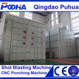 Arena Blasting Booths con Pneumatic Abrasive Circulatory System