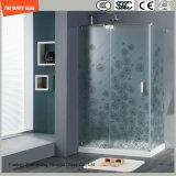 4-19mm Anti-Fingerabdruck saures Ethced ausgeglichenes Glas-Dusche-Panel für Hotel