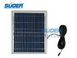 Suoer vendita calda sistema di energia solare 12V 7Ah Solar Power Generator miglior prezzo rifornimento di energia solare con Built-in grande batteria (ST-A02)